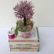 Cherry tree sugar bowl