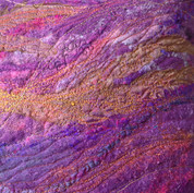 Close up of a cushion