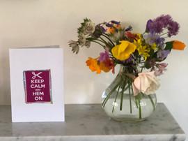 Textile Keep Calm cards