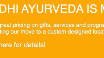 Bodhi Ayurveda is Moving