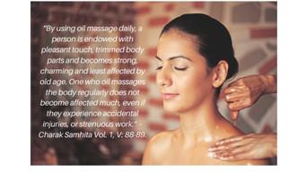Abhyanga: A ritual self massage full of self love