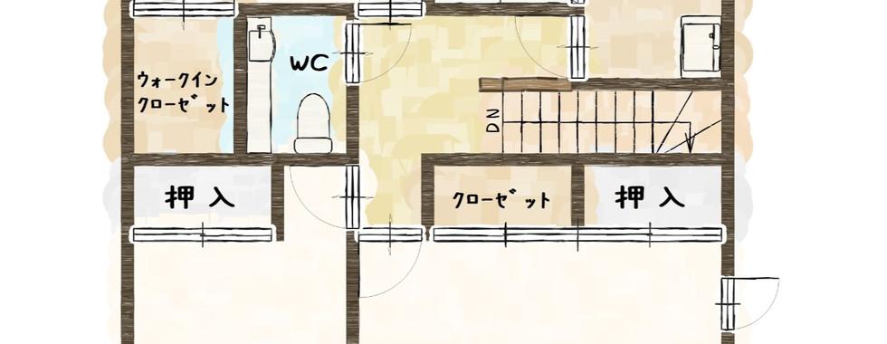 2階 間取り