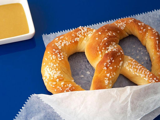 Pretzel with Beer Cheese