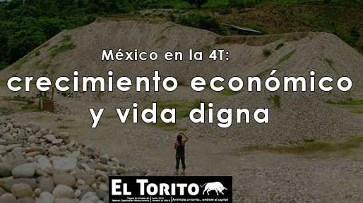 México en la 4T: crecimiento económico y vida digna