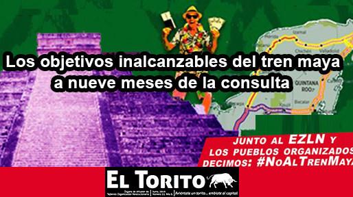 Los objetivos inalcanzables del tren maya a nueve meses de la consulta