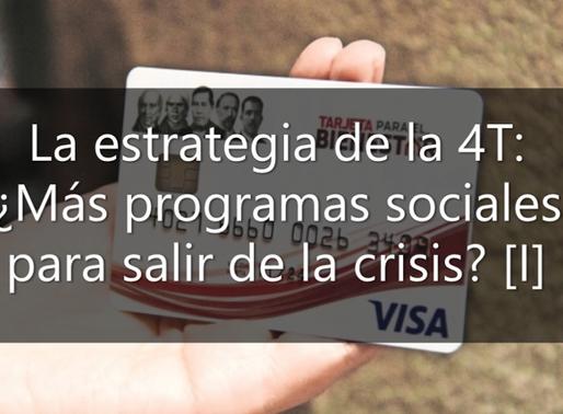 La estrategia de la 4T: ¿Más programas sociales para salir de la crisis? [I]
