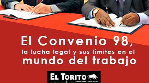 El Convenio 98, la lucha legal y sus límites en el mundo del trabajo en la 4T