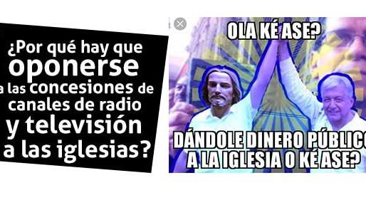 ¿Por qué hay que oponerse a las concesiones de radio y televisión a las iglesias?