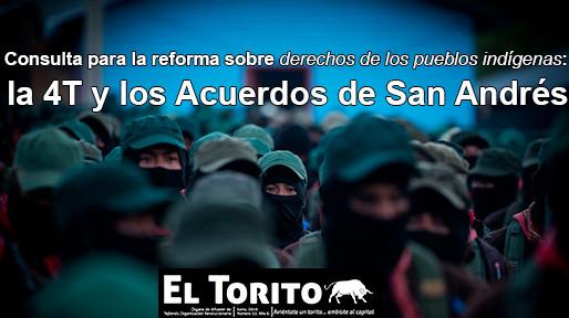 Consulta para la reforma sobre derechos de los pueblos indígenas: la 4T y los Acuerdos de San Andrés