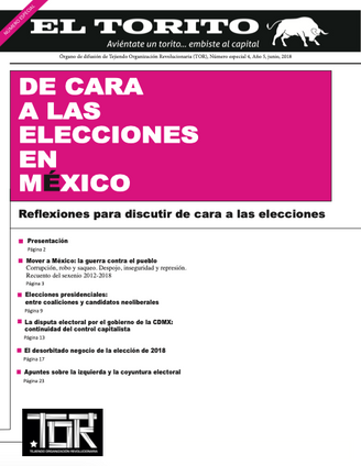 De cara a las elecciones en México 2018