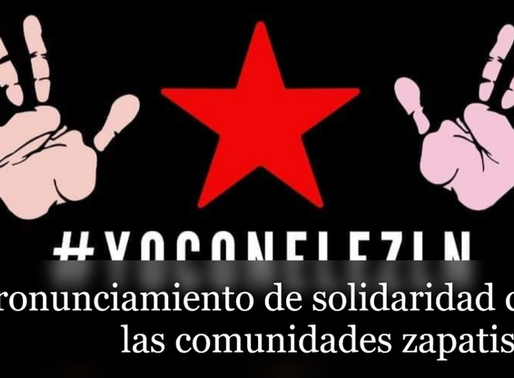 Solidaridad con las comunidades zapatistas del EZLN