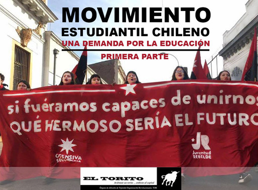 Movimiento estudiantil chileno, una demanda por la educación