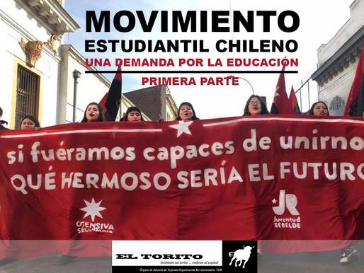 Movimiento estudiantil chileno, una demanda por la educación
