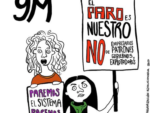 Tomar las calles y organizarse: 8 de marzo, un llamado a la acción