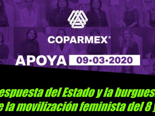 La respuesta del Estado y la burguesía ante la movilización feminista del 8 y 9M