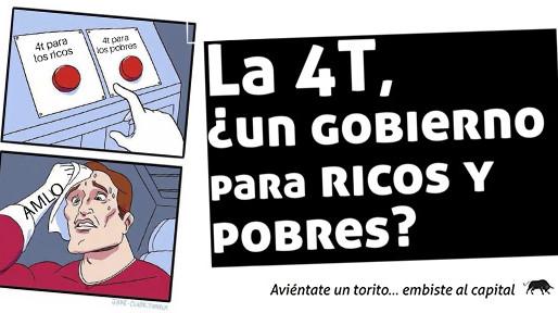 La 4T ¿un gobierno para ricos y pobres?