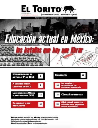 Educación actual en México: las batallas que hay que librar