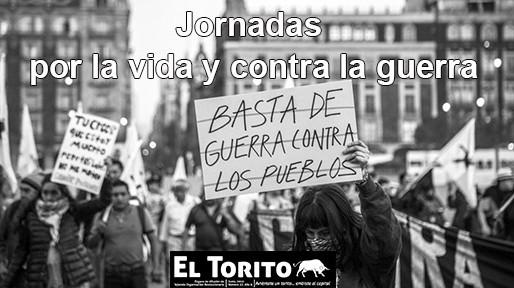 """""""Jornadas por la Vida y contra la Guerra"""""""