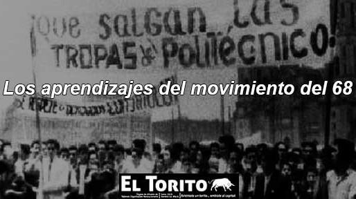 Los aprendizajes del movimiento del 68