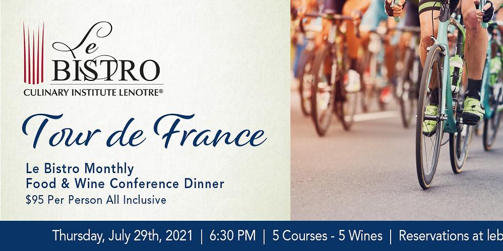 Tour de France - Monthly Food & Wine Conference Dinner