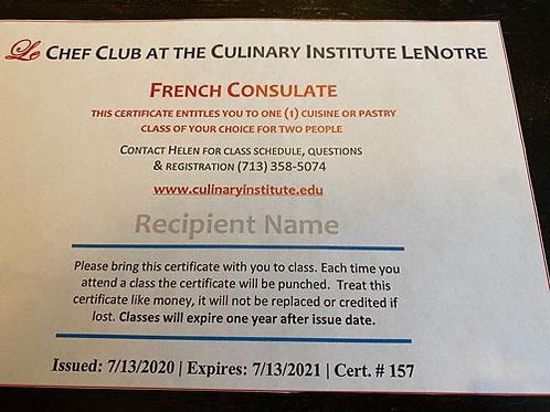 Lenotre  - Gift Card $140 (2 cartes disponibles)