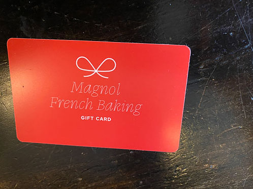 Magnol French Baking  - Gift Card $30 (9 cartes disponibles)