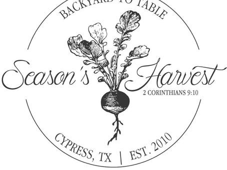 Season's Harvest Café – Cypress