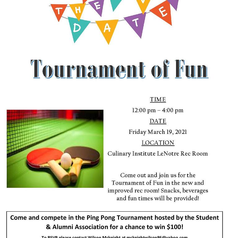 Ping Pong Tournament of Fun