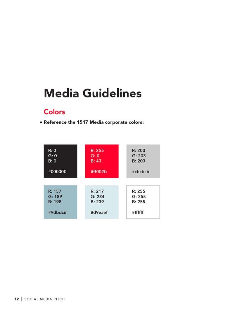 Proposal Design Guidelines