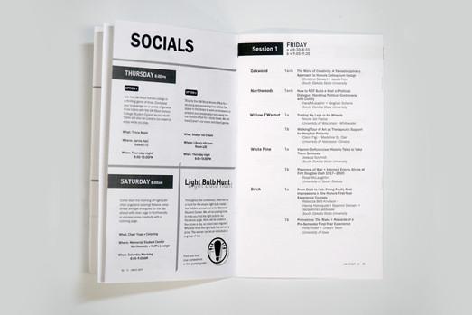 Socials + Day 1