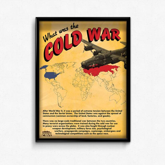 Cold War display sign