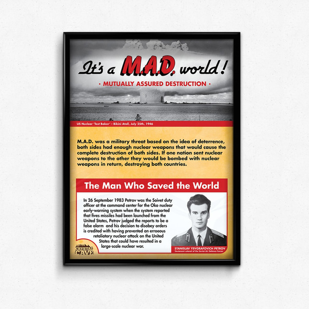 """""""It's a MAD world"""
