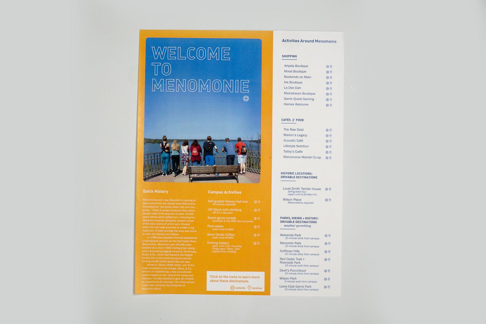 Welcome to Menomonie Flyer