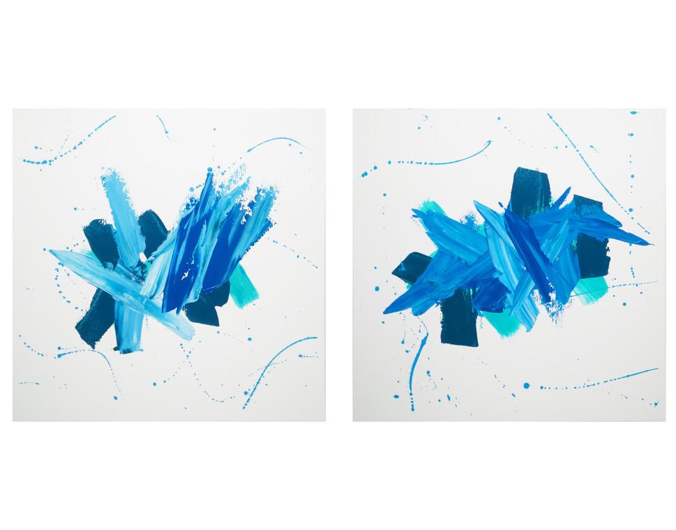 Karina Matheus - Sea-sky I & II