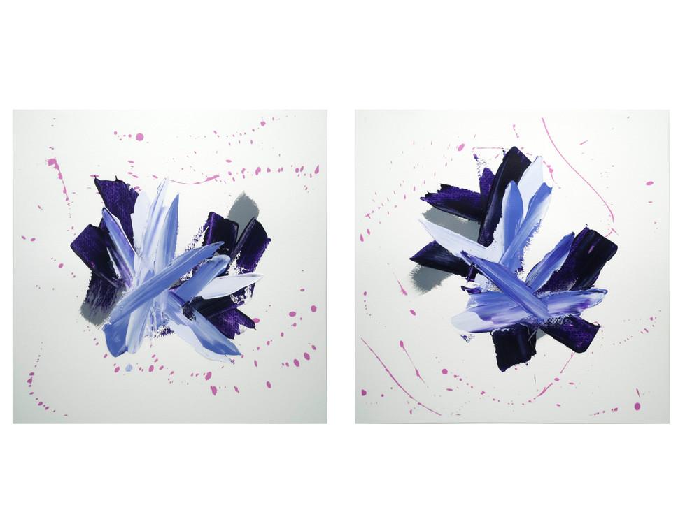 Karina Matheus - Sacred rocks I & II