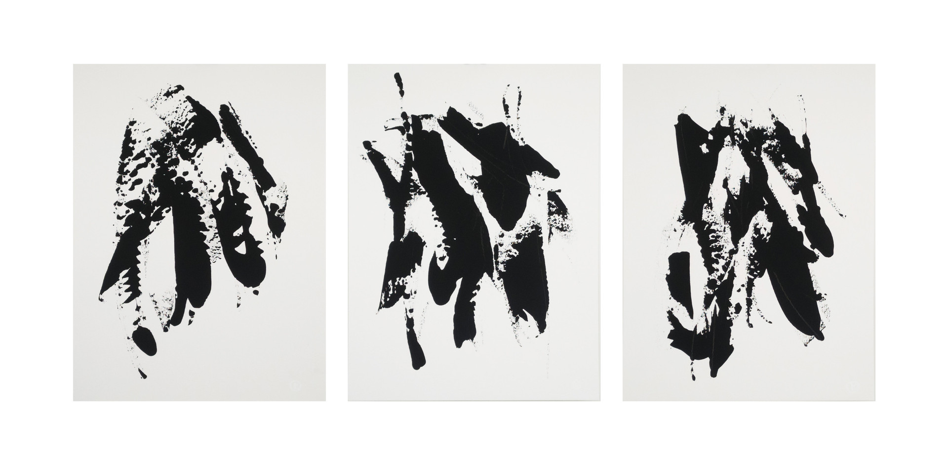 Karina Matheus - Moon night I, II & III (triptych)