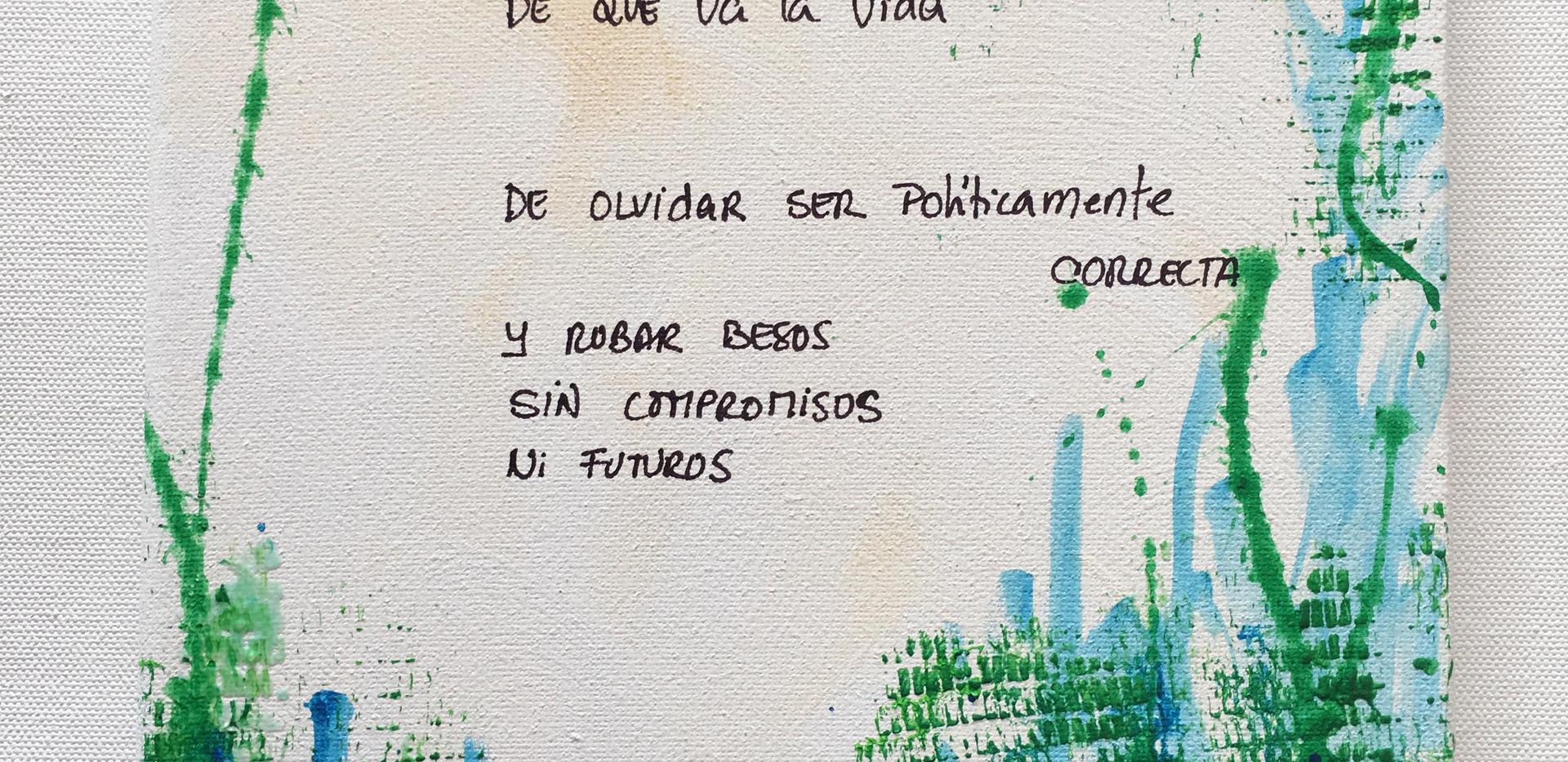 Karina Matheus - De qué va la vida (detail)