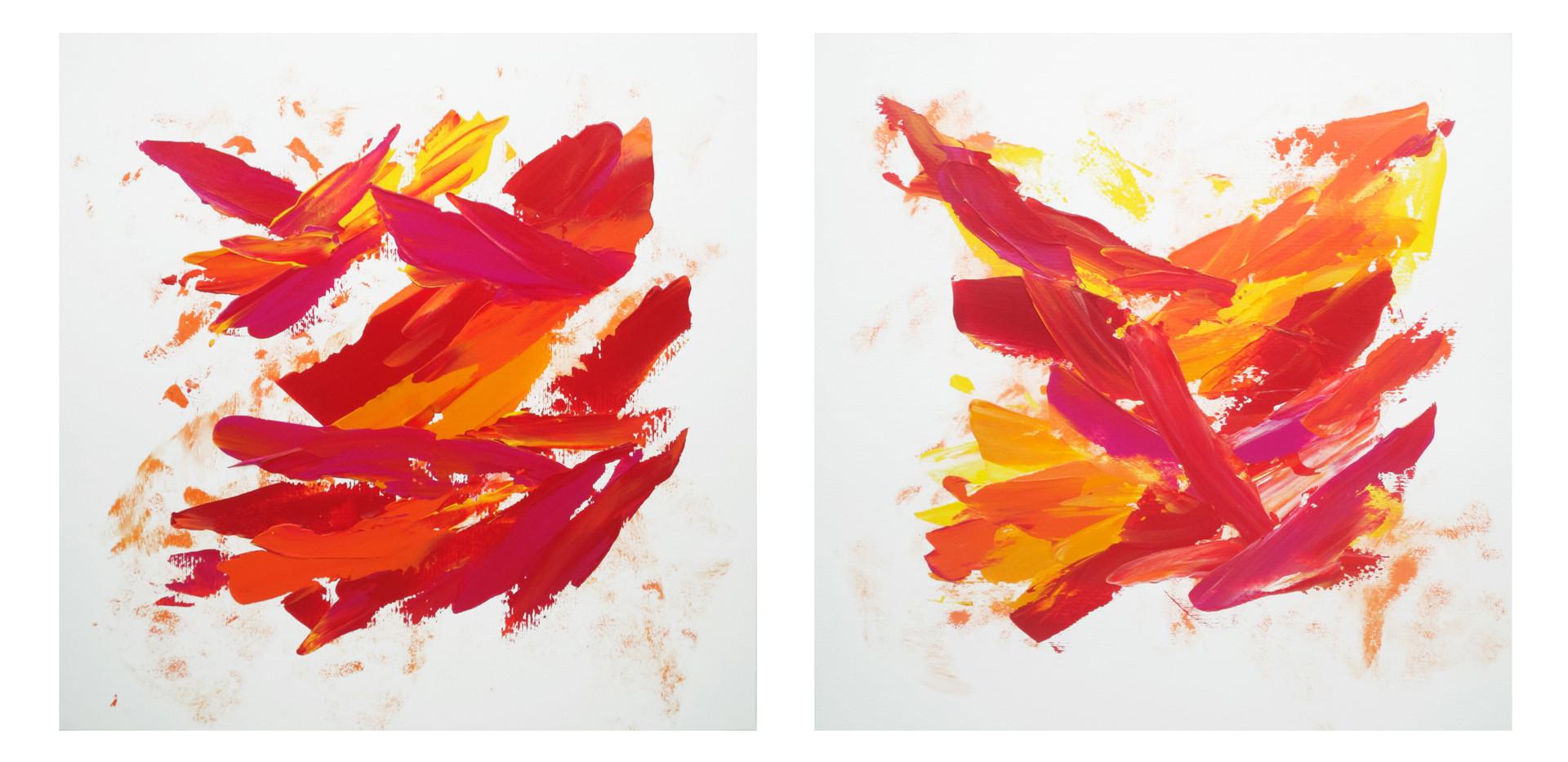 Karina Matheus - Ancient fire I & II