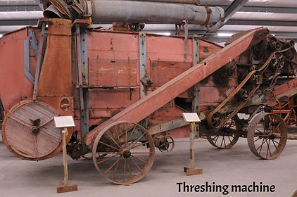 Threshing Machine | Goessel Museum