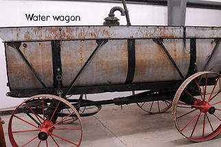 Water wagon for steam tractors | Goessel Museum