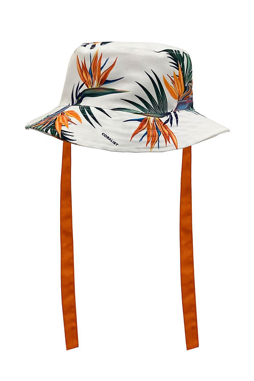 Reversible Coralist Bucket Hat in Sunrise Paradise