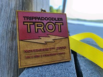 Trippadoodles Trot 2020 Medal Front 2.jp