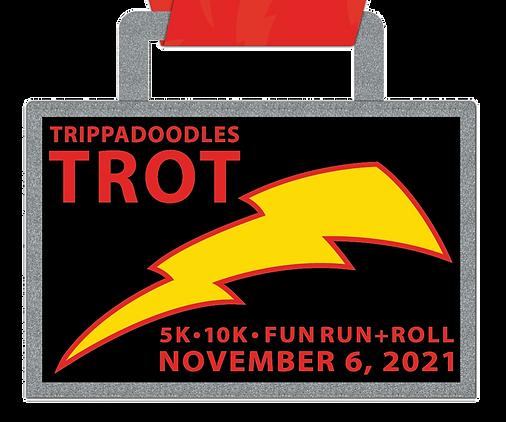 Trippadoodles Trot 2021 Medal Close Up L