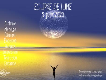 Eclipse de lune du 5 juin 2020