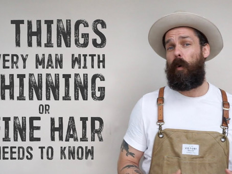 A Top Barber Shared 8 Things Men With Fine or Thinning Hair Need to Know