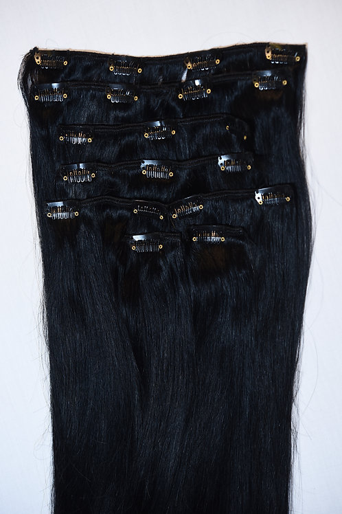 Clips-in Remy Hair Extensions #1