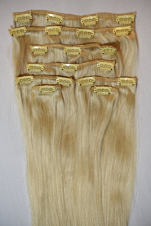 Clips-in Remy Hair Extensions #613