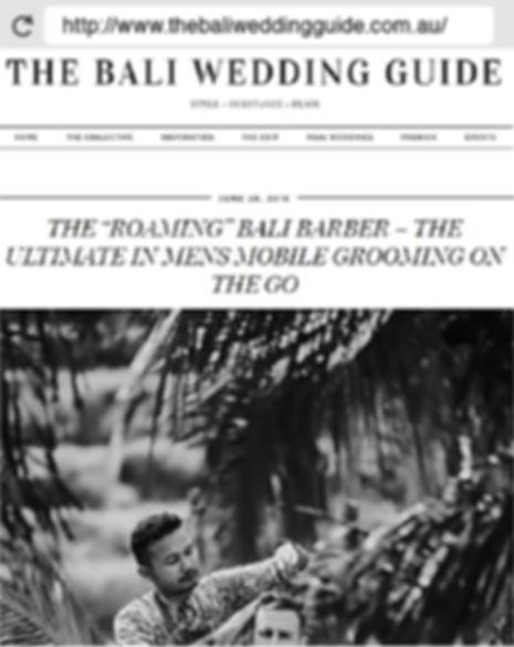 press tsl-bali wedding guide bali barber