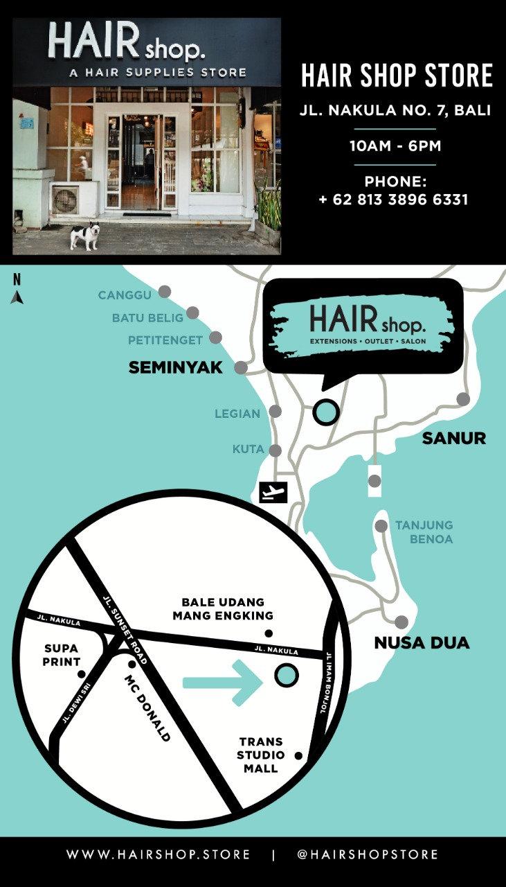 BALI MAP HAIR EXTENSIONS BALI BALI BEST
