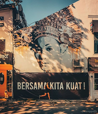 TSL mural indah kalalo manggalih bersama